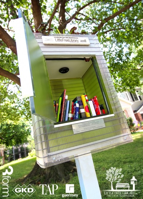 Little Free Libraries going up all over town!